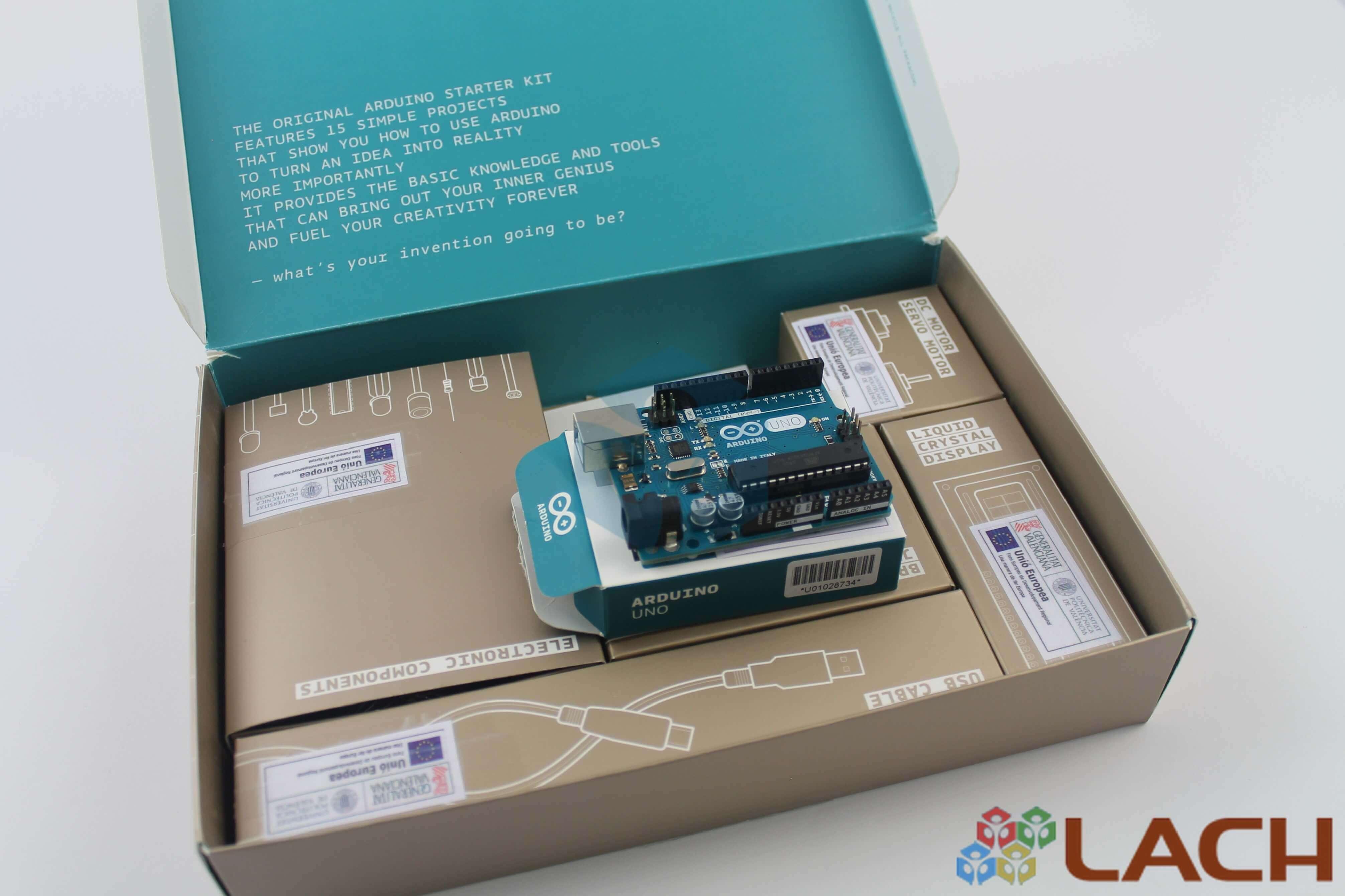 Arduino Starter Kit (Original) with English Manual - Lach